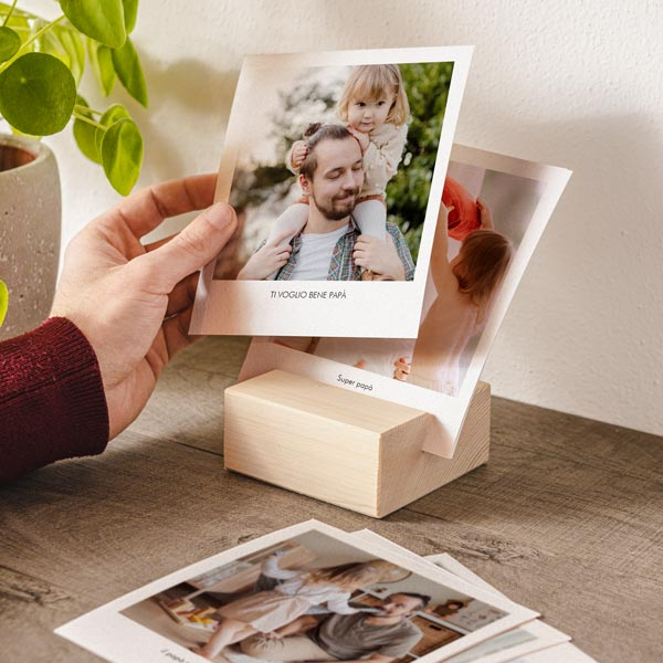 Woody Photo Portafoto in legno